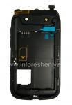 Средняя часть оригинального корпуса для BlackBerry 9790 Bold, Черный