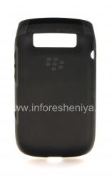 Оригинальный силиконовый чехол уплотненный Soft Shell Case для BlackBerry 9790 Bold, Черный (Black)