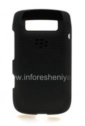 Оригинальный пластиковый чехол-крышка Hard Shell Case для BlackBerry 9790 Bold, Черный (Black)