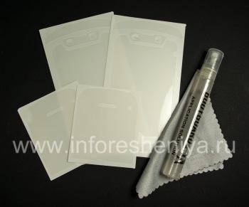 set perusahaan film pelindung transparan untuk layar dan perumahan BodyGuardz UltraTough Batal Full Body (2 set) untuk BlackBerry 9790 Bold
