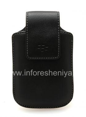 Buy Original Isikhumba Case Zokwenziwa Isikhumba swivel holster nge Isiqeshana for BlackBerry