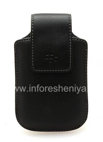 Housse en cuir d'origine Cuir Synthétique Swivel Holster avec clip pour BlackBerry