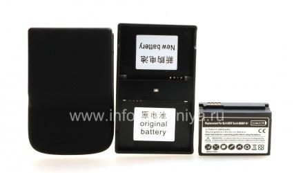 Hochleistungsakku für Blackberry 9800/9810 Torch, schwarz