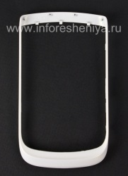 Цветной ободок для BlackBerry 9800/9810 Torch, Жемчужно-белый (Pearl White)