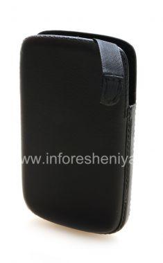 Купить Фирменный кожаный чехол-карман с язычком Smartphone Experts Pocket Pouch для BlackBerry 9800/9810 Torch