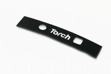Partie du corps - de la caméra pour le BlackBerry 9800 Torch, Torch, Noir