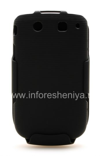 Фирменный пластиковый чехол + кобура Wireless Solutions Holster Snap-On Combo для BlackBerry 9800/9810 Torch
