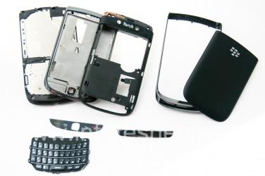I original icala BlackBerry 9800 Torch, Black (amalahle)