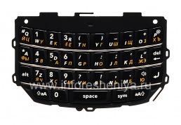 Русская клавиатура BlackBerry 9800/9810 Torch, Черный