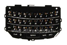 Русская клавиатура BlackBerry 9800/9810 Torch (гравировка), Черный