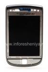 L'assemblage de l'écran LCD d'origine avec un curseur pour BlackBerry 9800 Torch, Foncé métallisé (charbon de bois), tapez 001/111