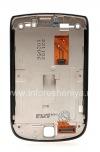 Фотография 2 — Оригинальный экран LCD в сборке со слайдером для BlackBerry 9800 Torch, Темный металлик (Charcoal), тип 001/111