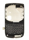 Photo 1 — La parte media del cuerpo original con un conjunto de chips para BlackBerry 9800/9810 Torch, 9800, Negro