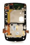 Photo 6 — La parte media del cuerpo original con un conjunto de chips para BlackBerry 9800/9810 Torch, 9810, Plata