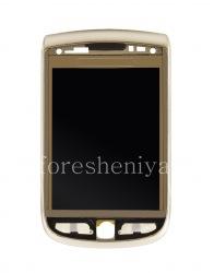 Оригинальный экран LCD в сборке со слайдером для BlackBerry 9810 Torch, Серебряный, тип 001/111