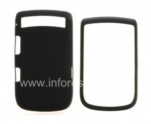 Фирменный пластиковый чехол Incipio Feather Protection для BlackBerry 9800/9810 Torch, Черный (Black)