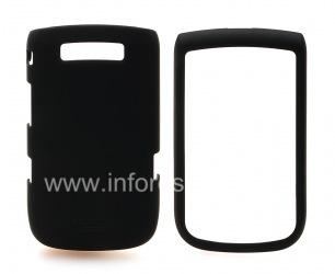 Фирменный пластиковый чехол Seidio Innocase Surface для BlackBerry 9800/9810 Torch, Черный (Black)