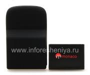 Фирменный аккумулятор повышенной емкости Monaco Extended Battery High Capacity для BlackBerry 9800/9810 Torch, Черный