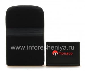 Corporate-Akku mit hoher Kapazität Monaco verlängerte Batterie mit hoher Kapazität für Blackberry 9800/9810 Torch, schwarz
