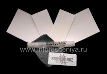 Unternehmens Reihe von transparenten Schutzfolien für den Bildschirm und Gehäuse BodyGuardz Schutzfolie für Blackberry 9800/9810 Torch, Klar