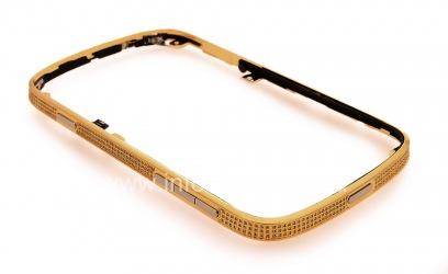 Эксклюзивный ободок с кристаллами Swarovski для BlackBerry 9900/9930 Bold Touch, Золотой
