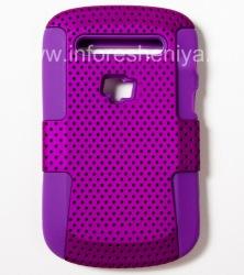 Чехол повышенной прочности перфорированный для BlackBerry 9900/9930 Bold Touch, Сиреневый/Фуксия