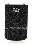 "Эксклюзивная задняя крышка ""Орнамент"" для BlackBerry 9900/9930 Bold Touch, Черный"