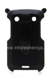 Фирменный пластиковый чехол-кобура AIMO AM Swivel Belt Holster для BlackBerry 9900/9930 Bold Touch, Черный