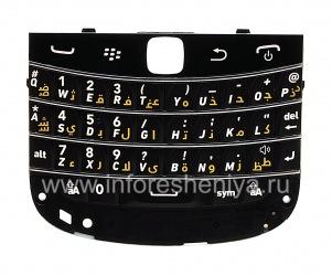 Оригинальная клавиатура для BlackBerry 9900/9930 Bold Touch (другие языки), Черный, Арабский