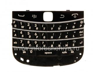 Оригинальная английская клавиатура для BlackBerry 9900/9930 Bold Touch, Черный