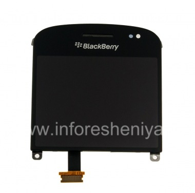 Купить Экран LCD + тач-скрин (Touchscreen) в сборке для BlackBerry 9900/9930 Bold Touch