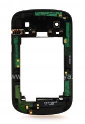 Средняя часть оригинального корпуса без поддержки NFC для BlackBerry 9900/9930 Bold Touch, Черный