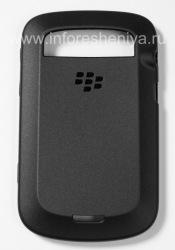 Оригинальный силиконовый чехол уплотненный Soft Shell Case для BlackBerry 9900/9930 Bold Touch, Черный