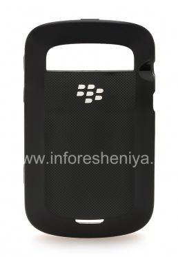 Оригинальный пластиковый чехол-крышка Hard Shell Case для BlackBerry 9900/9930 Bold Touch, Черный (Black)