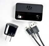 """Оригинальное настольное зарядное устройство """"Стакан"""" Carging Pod Bundle для BlackBerry 9900/9930 Bold Touch, Черный"""