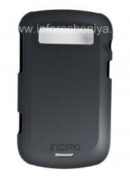 Фирменный пластиковый чехол-крышка Incipio Feather Protection для BlackBerry 9900/9930 Bold Touch, Черный (Black)