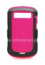 Фирменный силиконовый чехол c пластиковым ободком Incipio Predator для BlackBerry 9900/9930 Bold Touch, Фуксия/Серый (Pink/Black)