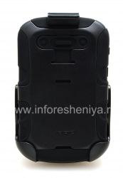 Фирменный чехол повышенного уровня защиты + кобура Seidio Convert Combo для BlackBerry 9900/9930 Bold Touch, Черный (Black)