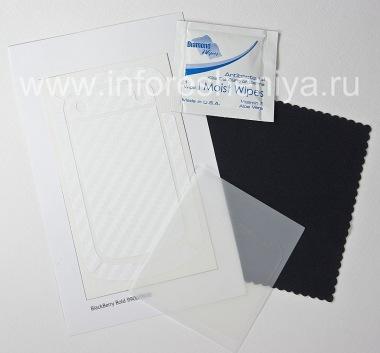 Купить Фирменный набор текстурных защитных пленок для экрана и корпуса BodyGuardz Armor для BlackBerry 9900/9930 Bold Touch