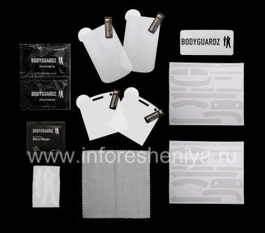 Купить Фирменный набор Ультрапрочных прозрачных защитных пленок для экрана и корпуса BodyGuardz UltraTough Clear Skin (2 набора) для BlackBerry 9900/9930 Bold Touch