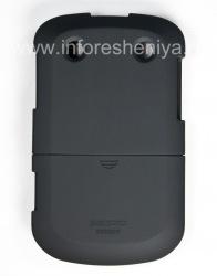 Фирменный пластиковый чехол Seidio Surface Case для BlackBerry 9900/9930 Bold Touch, Черный (Black)