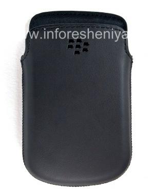 Купить Оригинальный кожаный чехол-карман матовый Leather Pocket для BlackBerry 9900/9930/9720