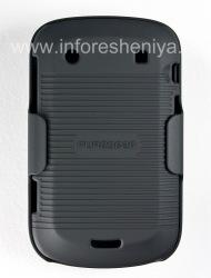 Фирменный пластиковый чехол + кобура PureGear Shell Holster для BlackBerry 9900/9930 Bold Touch, Черный (Black)