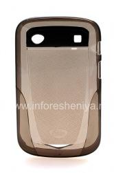 Фирменный силиконовый чехол уплотненный iSkin Vibes для BlackBerry 9900/9930 Bold Touch, Темно-серый (Carbon)