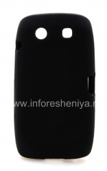 Фирменный классический силиконовый чехол  Wireless Solutions Gel Case для BlackBerry 9850/9860 Torch, Черный (Black)