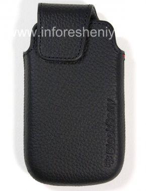 Купить Оригинальный кожаный чехол-карман Leather Pocket для BlackBerry 9850/9860 Torch