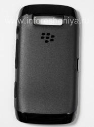Оригинальный чехол повышенной прочности Premium Skin для BlackBerry 9850/9860 Torch, Черный/Черный (Black/Black)