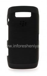 オリジナルのプラスチックカバーは、ブラックベリー9860分の9850 Torch用ハードシェルケースをカバー, ブラック(黒)