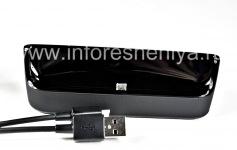 """Оригинальное настольное зарядное устройство """"Стакан"""" Sync Pod Bundle для BlackBerry 9850/9860 Torch, Черный"""