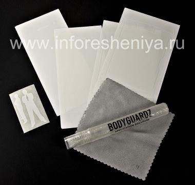 Купить Фирменный набор прозрачных защитных пленок для экрана и корпуса BodyGuardz Protective Skin (2 набора) для BlackBerry 9850/9860 Torch